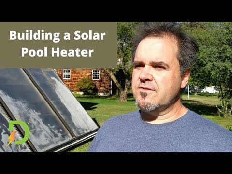 Building a Solar Pool Heater for Huge in-ground Swimming Pool