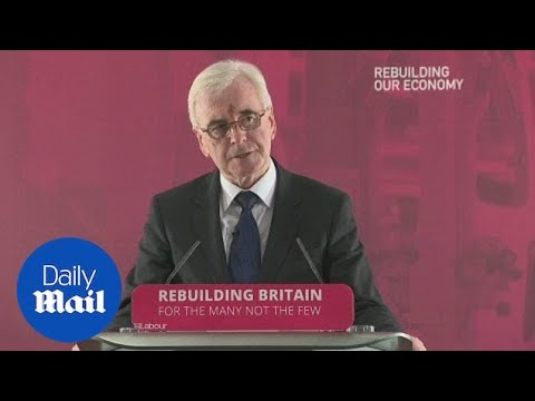 John McDonnell hits out at eight years of Tory austerity