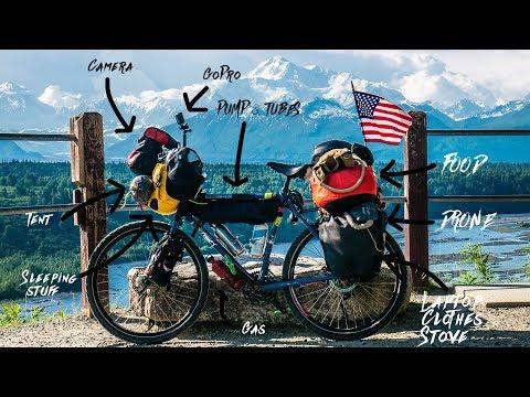 Around The World Bike Touring Gear Setup