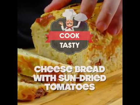Cheese Bread With Sun-dried Tomatoes.How To Cook? | Cook Tasty