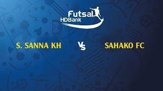 Trực tiếp   S. Sanna Khánh Hòa - Thái Sơn Nam   VCK Futsal VĐQG HD Bank 2019
