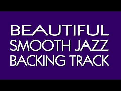 Beautiful Smooth Jazz Backing Track in C Minor