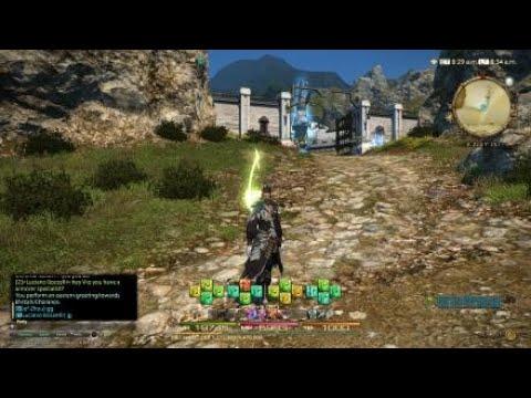 Final Fantasy XIV: FFXI Bard Song Played!!!