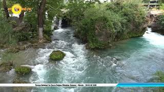 Tarsus Şelalesi Ve Çevre Doğası İlkbahar Zamanı - Mersin - 2018 4K UHD