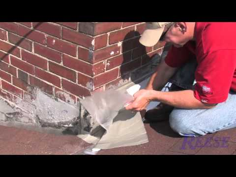How To Repair Leaky Chimney Flashing With Eternabond