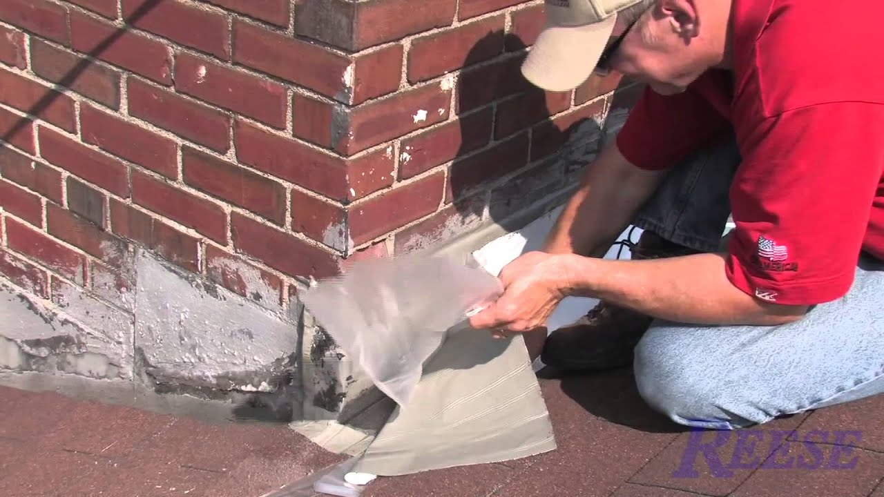 How To Repair Leaky Chimney Flashing With Eternabond Youtube