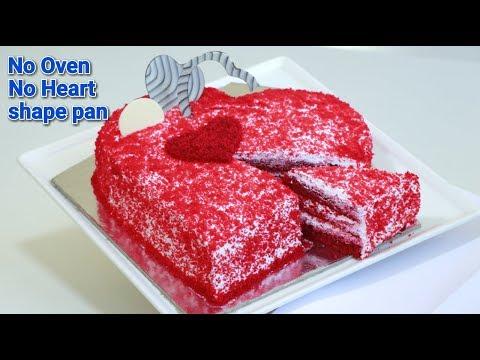 Simple way to make red velvet cake in malayalam