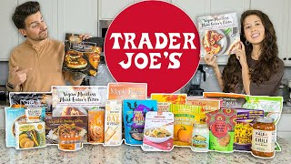 Trying *New* Fall Items at Trader Joe's | $100+ Grocery Haul