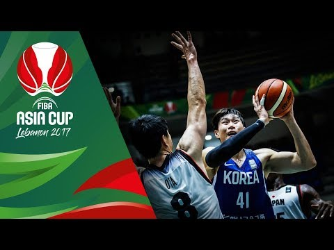 HIGHLIGHTS: Korea vs. Japan (VIDEO) FIBA Asia Cup 2017