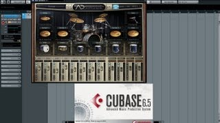 How to set up Addictive Drums in Cubase - tutorial