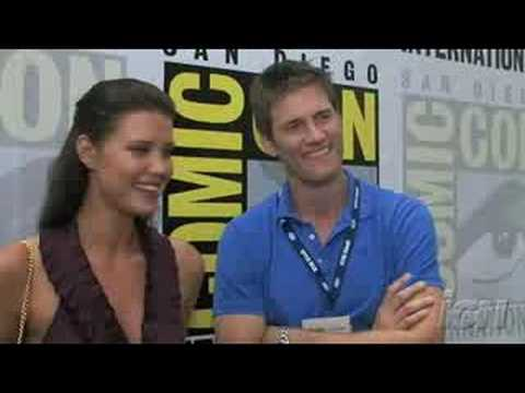 SDCC 08: Chuck  Sarah Lancaster & Ryan McPartlin Season 2