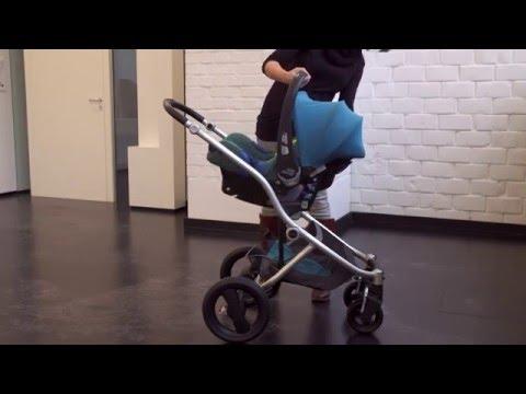 Britax Romer Baby Safe Plus SHR II - быстрое крепление на коляску