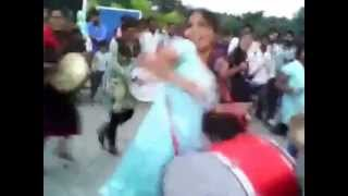 Tamil College Girls Marana Mass Performance