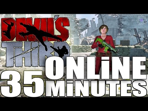 Devil´s Third / 35 Minutes ONLINE Gameplay + Character customization