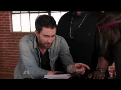 Adam Levine's Cute Moments On The Voice_P2.mp4