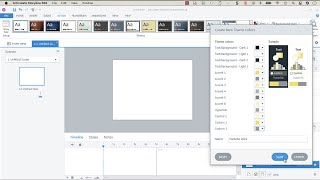 Working with Theme C๐lours in Articulate Storyline