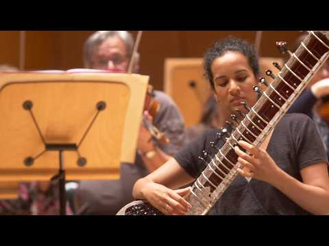 Behind the Scenes - Rehearsal, Glass and Shankar