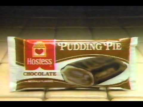 Hostess Pudding Pies commercial [1986]