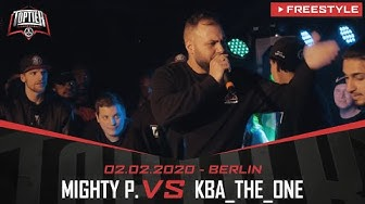 MIGHTY P. vs. KBA_THE_ONE - Takeover Freestylemania | Berlin 02.02.20 (HF 2/2)