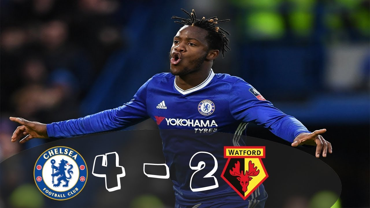 Download Chelsea VS Watford 4-2 Goals & Highlights Premier League All Goals ( 21 10 2017 )