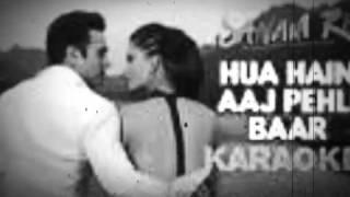 Hua hai aaj pehli baar full karaoke song