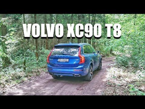 Volvo XC90 T8 hybryda plug-in (PL) - test i jazda próbna