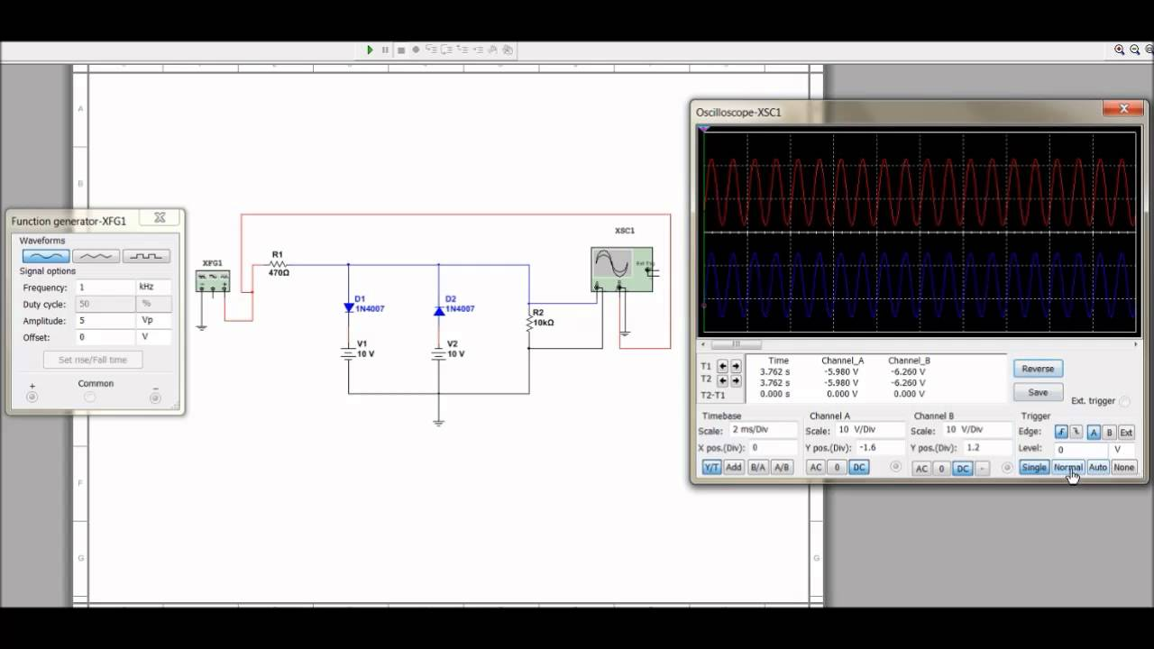 Ac Series Circuit Parallel Wiring Diagram And Ebooks Example Of Clipper Youtube Examples