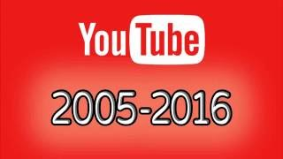 YouTube Layout Changes History 2005 - 2016 thumbnail