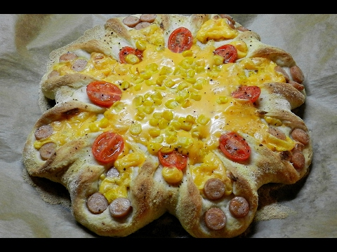 Easy Corn Sausage Pizza