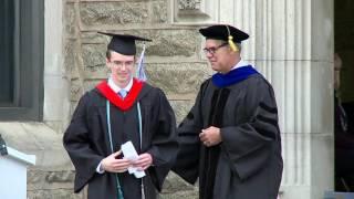 Villanova University College of Engineering Convocation 2016