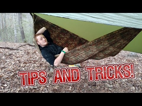 Hammock Hanging Tips and tricks