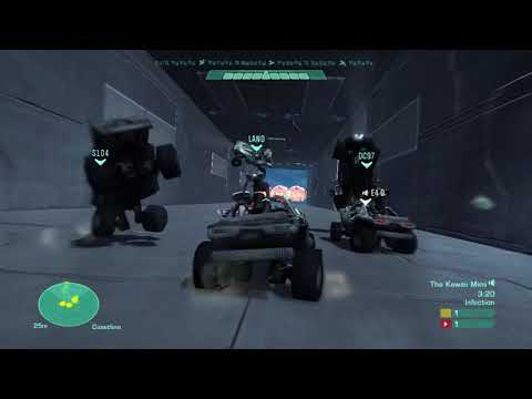 Halo: Reach Extended Game Night Part 1 - Crash Up Derby and Speed Halo