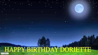 Doriette  Moon La Luna - Happy Birthday