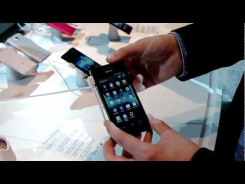 Sony Xperia V - Hands-On - IFA 2012 - androidnext.de