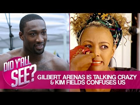 Gilbert Arenas' Sexist Post And Kim Fields Too Boring For RHOA? | Did Y'all See?