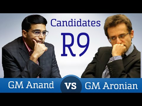 Anand - Aronian Round 9 Candidates 2016 | Chess Game Analysis