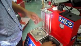 Hướng dẫn sử dụng máy súc rửa kim phun - béc phun xe phun xăng điện tử AI600