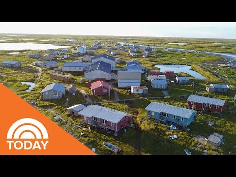 Isaiah Charles Shares How Newtok Alaska Is Being Erased By Climate Change | TODAY