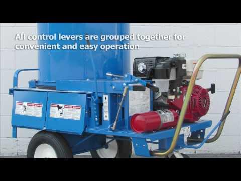 Bale & Bedding Chopper Cutter Blower Mulcher - Product Overview & Farm Demo Patz 9427 Chopper