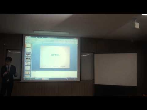 APMS(Access Point Management System) 発表者 ジョン・ジンシク
