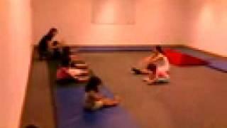 Первый день гимнастики