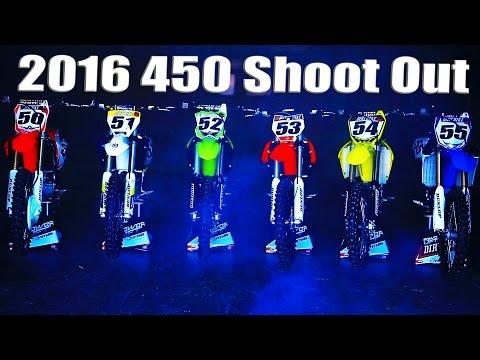 2016 450 Motocross Shoot Out  Dirt Bike Magazine