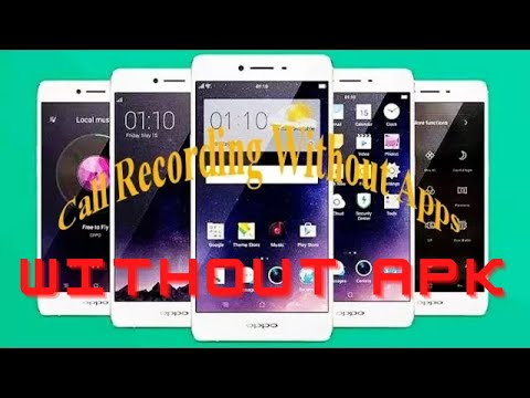 How to enable call recording in OPPO phones | Auto call recording apk |  Easy to record