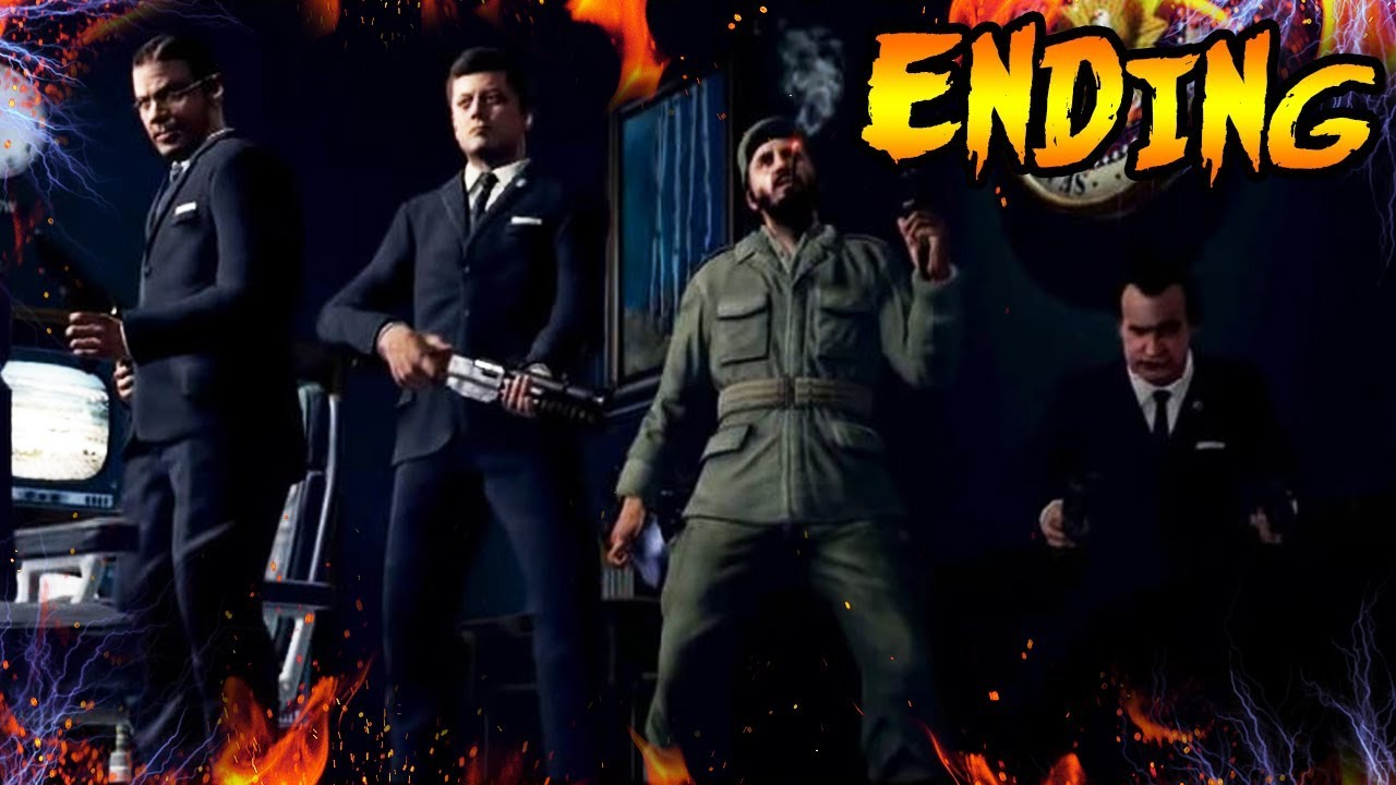 Five Ending Explained What Happened To The Five Characters Black Ops Zombies Storyline Easteregg Youtube