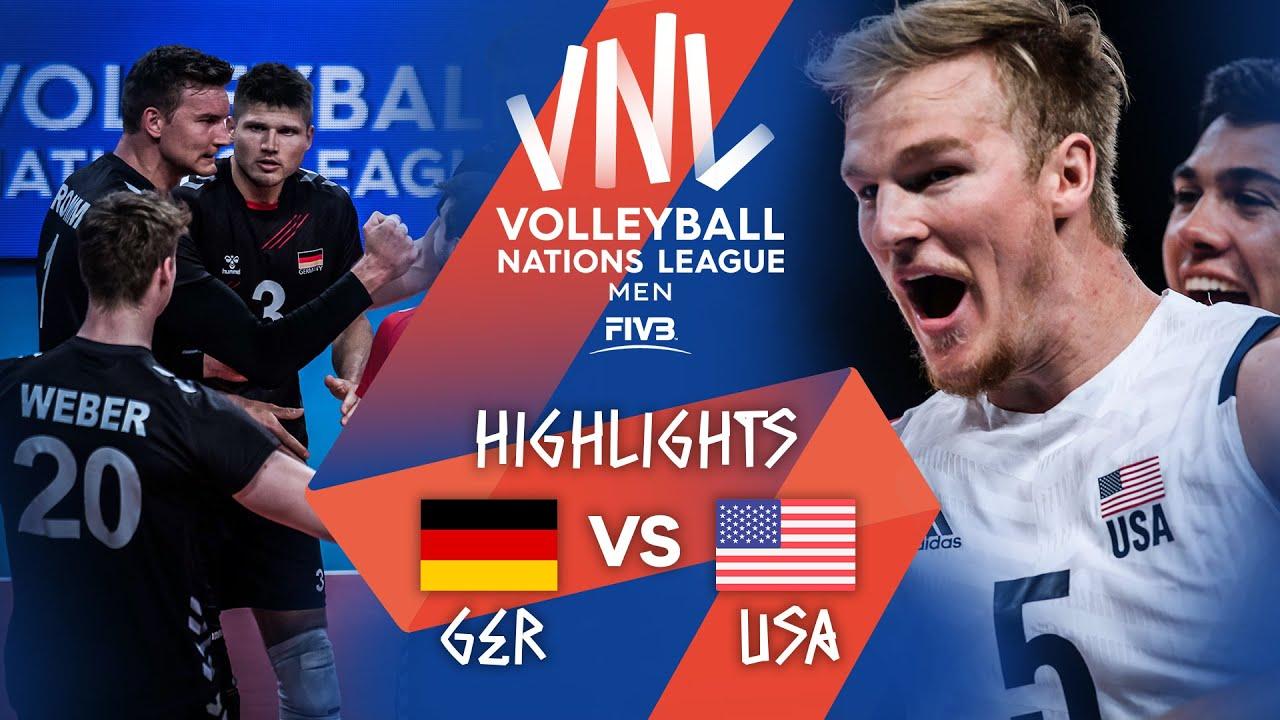 Download GER vs. USA - Highlights Week 3 | Men's VNL 2021