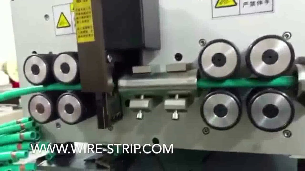 what is a wire stripper wire harness machine copper to aluminum wire cable for networking [ 1280 x 720 Pixel ]