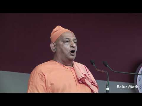 Speech by Swami Divyananda on Sri Ramakrishna Tithipuja 2018