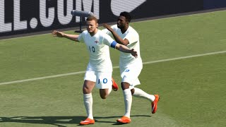 PES 2015 (PC) - Netherlands x England - Gameplay