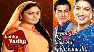 OMG! Balika Vadhu Beats Kyunki Saas Bhi Kabhi Bahu Thi - Watch Now