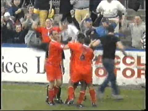 Macclesfield 0 Leyton Orient 2 - Football League Division Three - 5th May 2001
